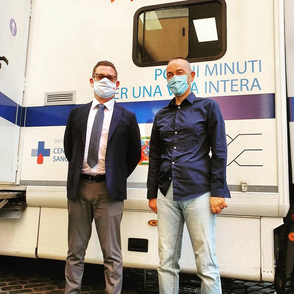 Carenza di sangue, scende in campo la Polizia di Roma Capitale